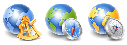 Globe_icons