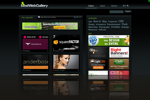 Best Web Gallery - Flash   CSS Gallery_1238006547920