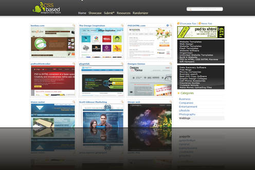 CSS Based Web Design Gallery - Designers love nature!_1238015578856