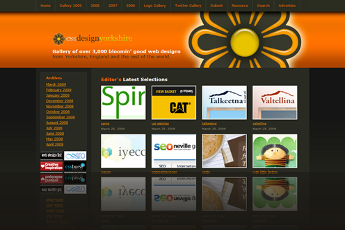 CSS Design Yorkshire - Gallery of CSS Websites_1238007310561
