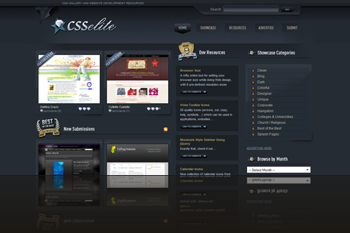 CSSelite.com - CSS Gallery » Showcasing the best in CSS web design and development._1238006673552