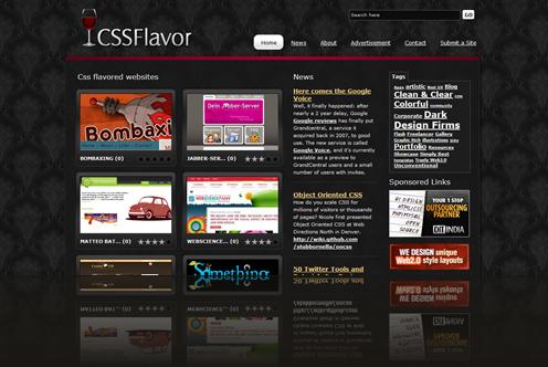 CSS Flavor - Gallery of Best CSS Design Websites_1238015741640