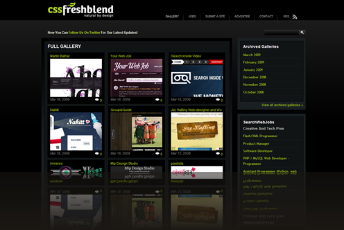 CSS FreshBlend - a fresh blend of beautiful web sites & creative web jobs_1238012847273