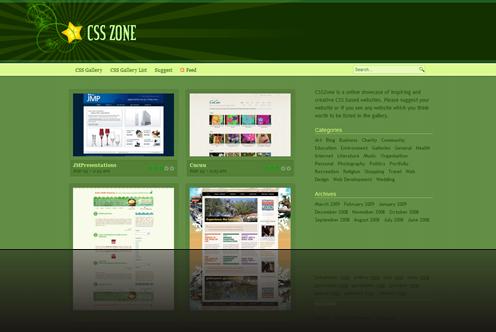 CSS Gallery - CSSZone_1238013134066