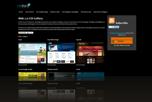 CSS Gallery for Web Designers - CSS Gallery for Design Inspiration - Web 2.0 CSS Gallery_1238016209250