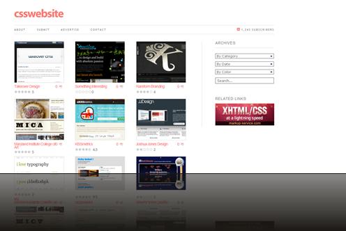 CSS Gallery - Website Design_1238007257793