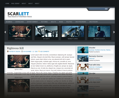 scarlette wordpress theme demo site_1238063221484