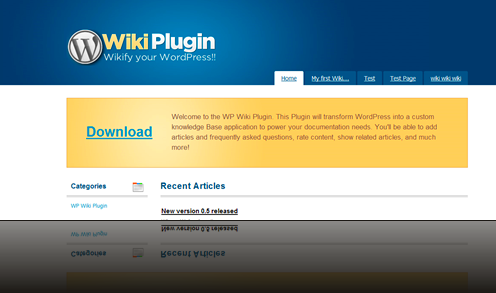WordPress Wiki Plugin_1238062230850